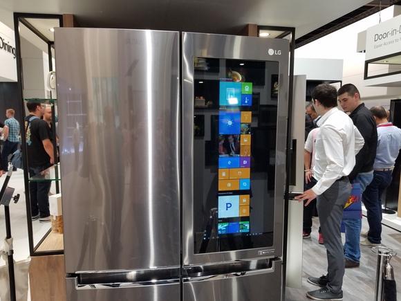 LG frigo intelligente con schermo da 29 pollici in arrivo
