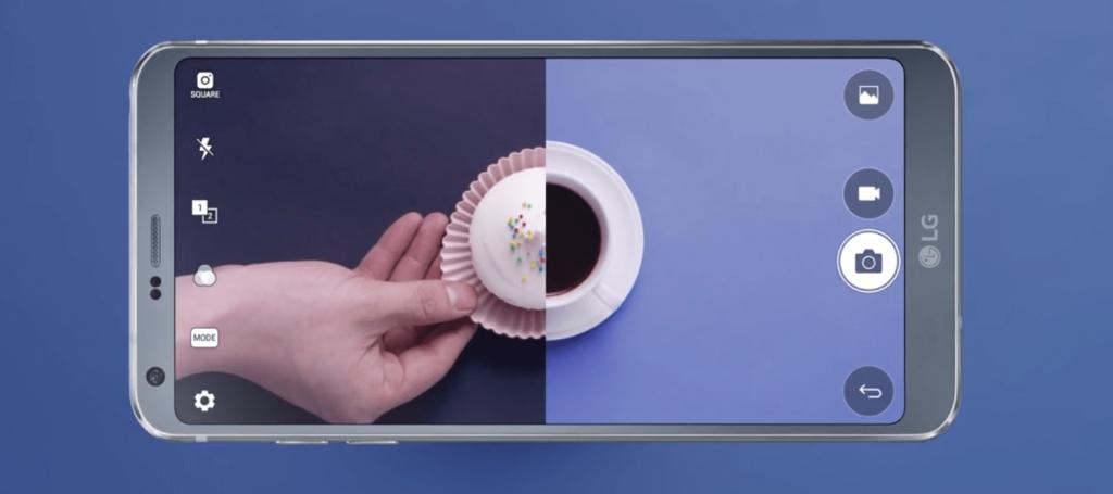 Fotocamera LG G6