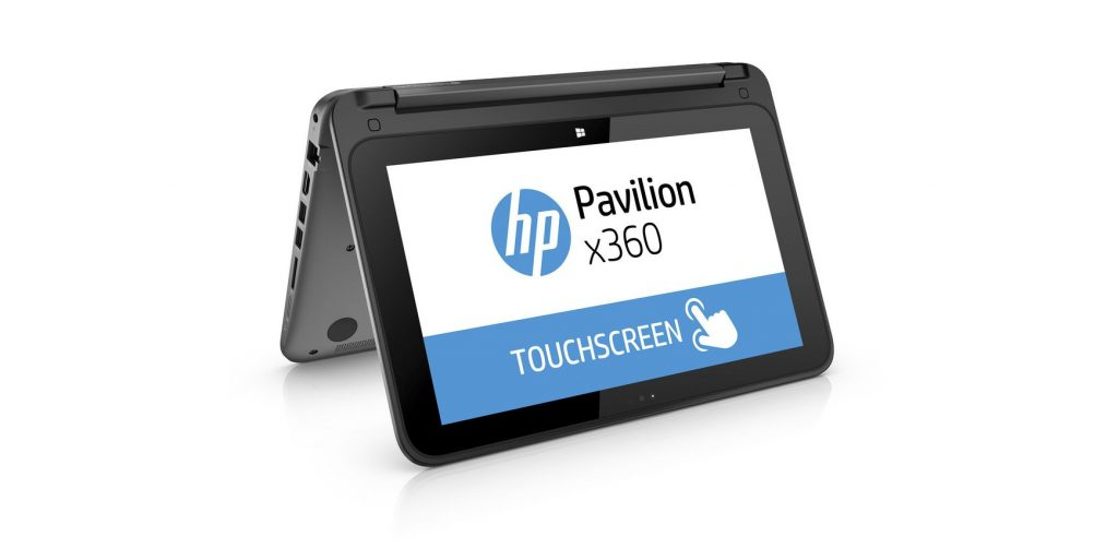 HP Pavilion x360 in versione tablet