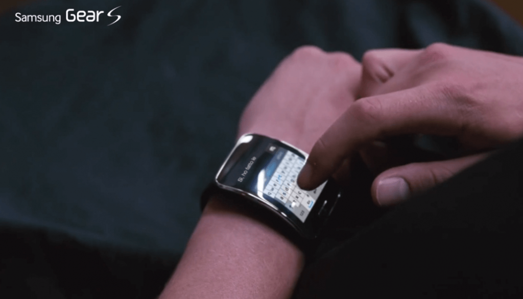 Tastiera Qwerty del Samsung Gear S2