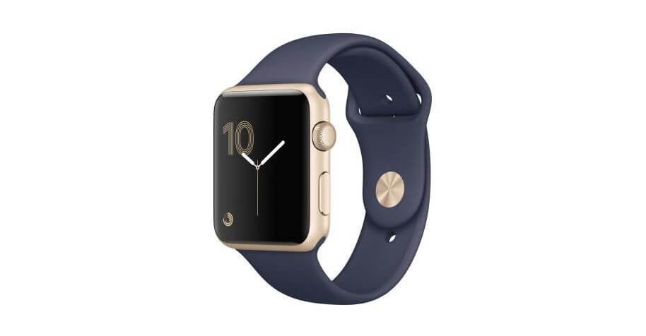 Apple Watch Serie 2, cinturino blu
