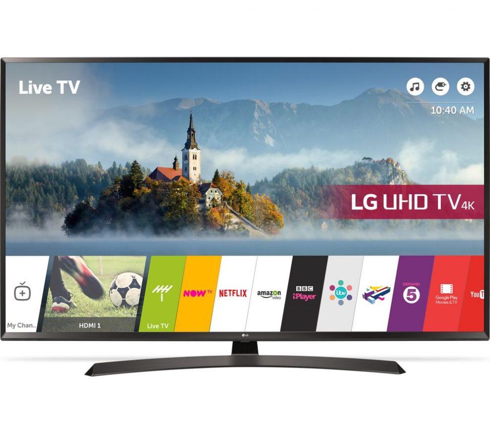 TV 4k Ultra HD: LG 60UJ634V