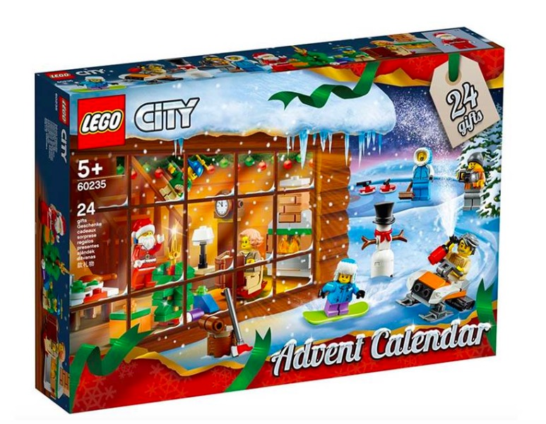 Calendario dell'Avvento 2019 LEGO City 60235