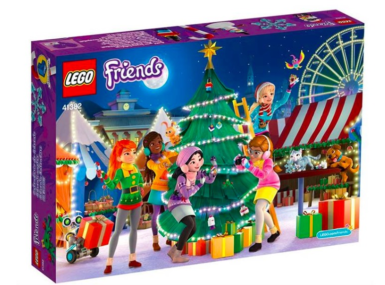 Calendario dell'Avvento 2019 LEGO Friends 41382